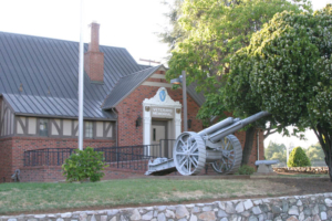 Auburn Veterans Memorial Hall Entrance