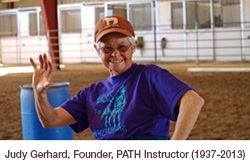 Judy Gerhard, Founder, PATH Instructor
